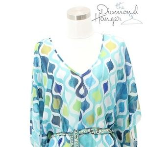 A47 NEW TRINA TURK Designer Dress Size S 4 6 Sheer